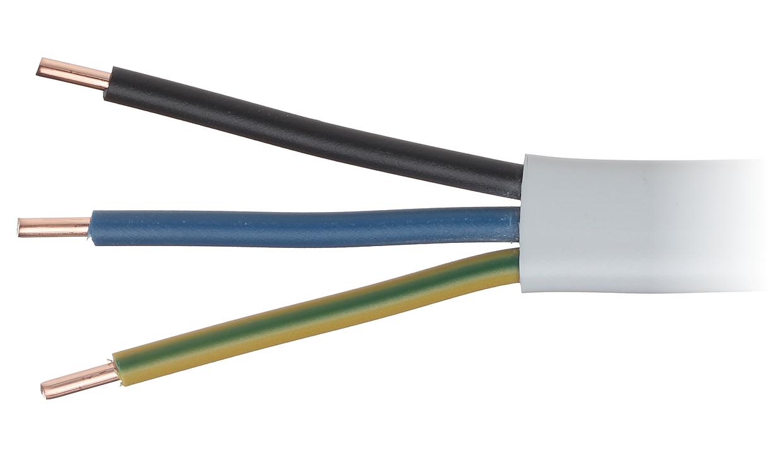 kabel elektryczny przew d elektryczny 3 x 2 5 mm cena za 1 m przy zakupie ca ej rolki 100 m. Black Bedroom Furniture Sets. Home Design Ideas