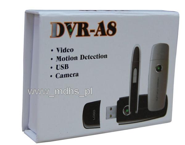 Mini kamera dyktafon podsłuch aparat ukryta w PENDRIVE USB 4 GB