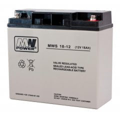 "AKUMULATOR ""MW POWER"" AGM 12V / 18Ah, N93C191"