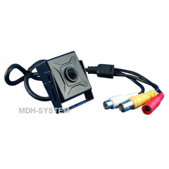 KAMERA AHD 720p 3.7 mm PIN-HOLE MINIATUROWA AUDIO  AHD-601M