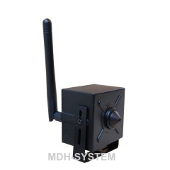 Mini kamera IP do ukrycia, 1920 x 1080p, FULL HD, ONVIF, Wi-Fi, AUDIO, obiektyw PIN HOLE, P2P, IPMICRO/1080p Wi-Fi