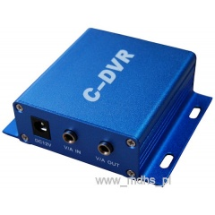 MINI REJESTRATOR CCTV DVR AUDIO VIDEO ZAPIS NA KARTY microSD C-DVR