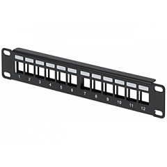 PATCH PANEL KEYSTONE PP10-12/K 10 ""