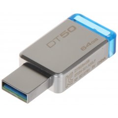 PENDRIVE FD-64/DT50-KING 64 GB USB 3.1/3.0 KINGSTON