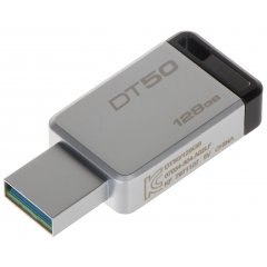 PENDRIVE USB 3.0 FD-128/DT50-KING 128 GB USB 3.1/3.0 KINGSTON